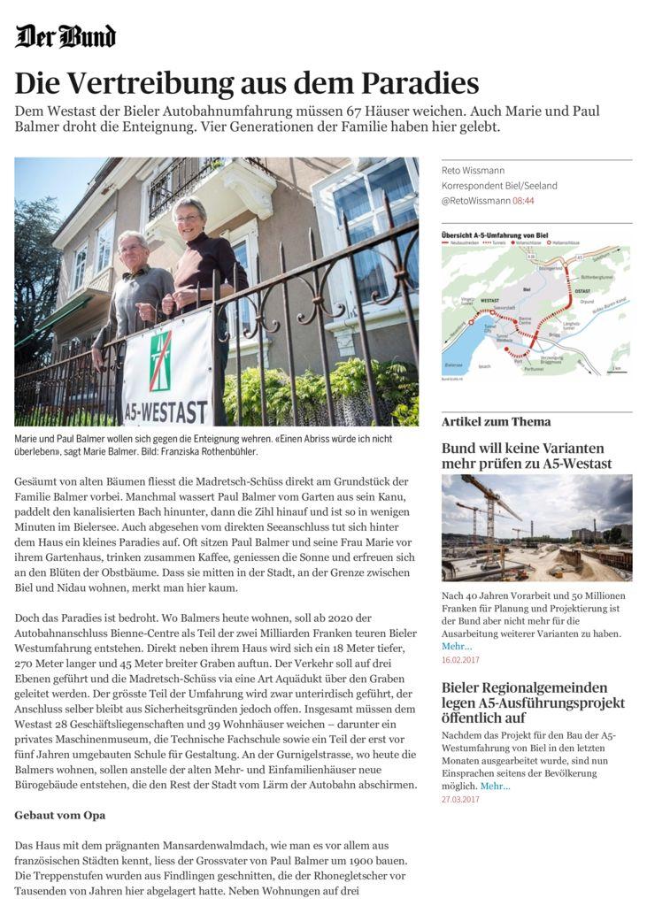 thumbnail of Die Vertreibung aus dem Paradies – News Bern: Kanton – derbund.ch